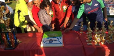 IPLCC 2016 FINALS CAKE CUTTING CEREMONY ALL CAPTAINS