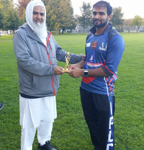 khaled mohammed man of the match chicago cricket